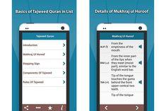 Tajweed Quran App – Learn Tajweed Rules of Quran Recitation #quran