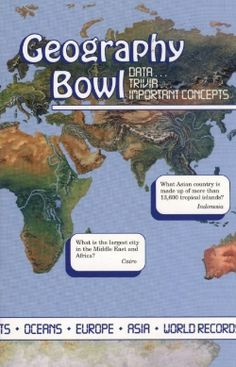Abeka- Geography Bowl: Quiz Team Book; questions and rules for six geography bowl contests
