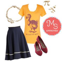 Extinct Outside the Box Tee by modcloth on Polyvore