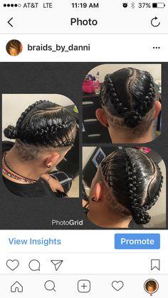 men braids box braids black hair hairstyles cornrows bun life ponytail French braids feedin braids feed-in no knot design Black Hair Hairstyles, Mens Medium Length Hairstyles, Bun Hairstyles, Braids For Kids, Girls Braids, French Braid Ponytail, French Braids, Men Ponytail, French Hair