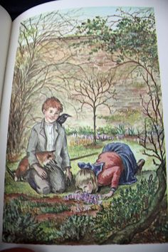 .Love Tasha Tudor!  Helps that she illustrated The Secret Garden and A Little Princess