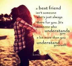 So very true and I'm glad I have lots of best friends