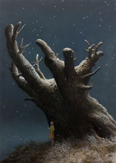 October and God of the Forest by Aron Wiesenfeld.