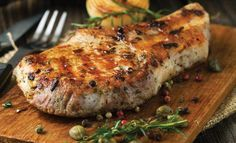 Gleneagles' barbecue pork neck in yogurt and herbs
