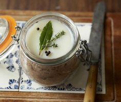 Duck Rillettes Spread Recipe: A classic French spread for crusty bread | from French Brasserie cookbook | House & Home