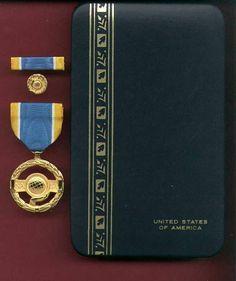 NASA Public Service Space Award Medal with Case Ribbon