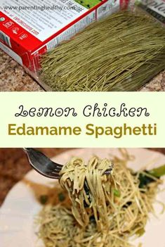 Edamame Spaghetti Recipes With Chicken.My Whole 30 Favorite: Edamame Pasta Sweet Williams . Zucchini Pasta Zoodles With Avocado Sauce Gimme Delicious. Cold Noodle Salad With Peanut Sauce Recipe. Home and Family Edamame Spaghetti, Spaghetti Noodles, Pasta Noodles, Spaghetti Recipes, Noodle Recipes, Pasta Recipes, Chicken Recipes, Vegan Recipes, Recipes With Edamame Pasta