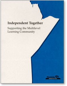 Independent Together: Supporting the Multilevel Community Community Manager, Cover Pages, Student Learning, Assessment, Curriculum, Management, English Teachers, Classroom, Teaching