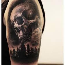 Resultado de imagem para scary tattoo