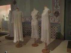 TRAJES E MODA   Indústrias Culturais. Early 20th century undergarments and sleepwear