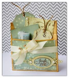 Paperbag Gift Bag by ~Fee~ - Cards and Paper Crafts at Splitcoaststampers