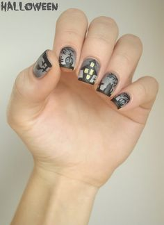 Nailstorming - Cimetière d'Halloween