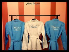Bridesmaid Waffle robe by JardioDesigns on Etsy, $30.00