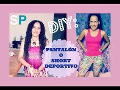 Cómo hacer un Pantalón o Short Deportivo Couture, Diy And Crafts, Shorts, Formal Dresses, Buenas Ideas, Life Hacks, Fitness, Blog, Fashion