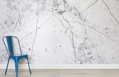 This textured white marble wallpaper is a sleek and stylish choice that would look great as kitchen or living room wallpaper when creating a modern space. Room Wallpaper, Fabric Wallpaper, Inspiration Wall, Interior Inspiration, Room Above Garage, Laundry Room Colors, Marble Room, Wall Finishes, Modern Spaces