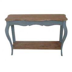 Sinead Console Table in Blue-Joss & Main