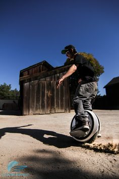 The FUTURE is HERE! The Ninebot One electric unicycle. Often compared to the Hoverboard but, FAR SUPERIOR.