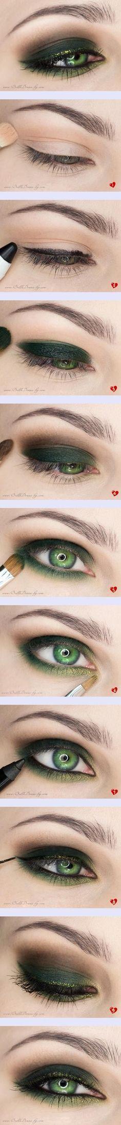 ¿Ojos verdes?