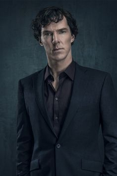 SHERLOCK (BBC) ~ Benedict Cumberbatch S4 promo photo.