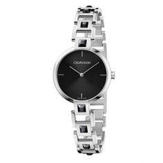 Γυναικείο ελβετικό ρολόι CALVIN KLEIN K9G23UB1 Mesmerise μαύρο με ατσάλινο μπρασελέ διακοσμημένο με κρύσταλλα | Ρολόγια CK ΤΣΑΛΔΑΡΗΣ στο Χαλάνδρι #Calvin #Klein #Mesmerise #μπρασελέ