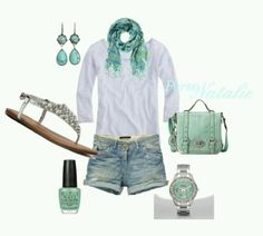 I love the mint everywhere!!!