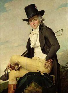 Portrait of Pierre Seriziat. Buff coloured breeches.