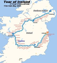 This seems like a popular cycle route through Ireland, but I can't seem to find any info about doing an unsupported, bike-camping tour of the whole country. I drove most of it a few years ago and really wished I had done more biking/hiking/camping while there.