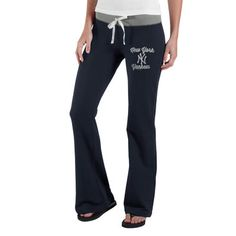 Women's '47 Brand Navy Blue New York Yankees Power Stretch Pants