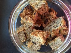 I love having a rusk with my morning coffee but it is not easy to find a yummy gluten-free rusk, so we made one. Well, my mom made them. She found a recipe on the… Gf Recipes, Gluten Free Recipes, Gourmet Recipes, Healthy Recipes, Rusk Recipe, Gluten Free Brands, Pecan Nuts, Gluten Free Baking, Easy Cooking