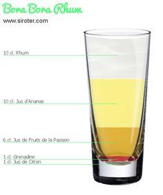 Recette Cocktail BORA BORA RHUM