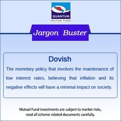 Demystify the term #Dovish‬ in the financial context? #MonetaryPolicy #JargonBuster ‪