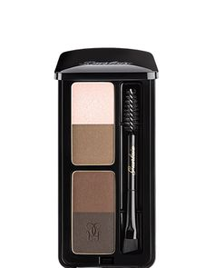 New Years Resolution: Flawless eyebrows. Easy with this kit! Great little kit from Guerlain. Eyebrow Kits, Eyebrow Brush, Eyebrow Makeup, Beauty Makeup, Hair Makeup, Hair Beauty, Eyebrow Products, Makeup Eyebrows, Eye Brows