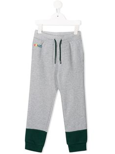 Kenzo Kids two-tone logo track trousers - Grey World Of Fashion, Kids Fashion, Fashion Design, Kenzo Kids, Drawstring Waist, Luxury Branding, Kids Outfits, Track, Baby Boy