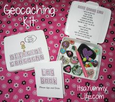 Geocaching Kit for Girl Scouts  Free Printables