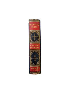 Antique Book Collection  Charles Dickens by BreadnButterAntiques