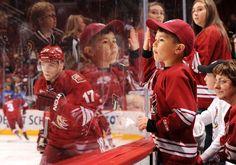 Babys gonna love hockey too. #ArizonaCoyotesFans