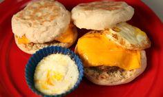 NuWave Muffin Sandwich