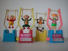 Trapeze PUSH TOYS 1970s. The simplest toy entertained us for hours.: