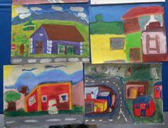 Grade4-7 town art