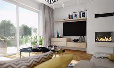 Projekt domu Focjusz 3 103,83 m2 - koszt budowy 189 tys. zł - EXTRADOM Home Technology, Flat Screen, House, Houses, Projects, Blood Plasma, Home, Flatscreen, Homes
