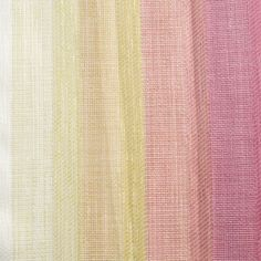 Luxury striped casement sheer, with graduated colour affect. Finished with a neat lead weighted hem.
