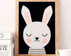 Cute rabbit, Little rabbit, Scandinavian nursery, Minimalist nursery, Pink nursery, Pink print, Safari print, Wall decor kids, Kids room art Printed on Canson 270gsm satin, acid-free paper. Available sizes: A4 / 210 x 297 mm / 8.3 x 11.7 in A3 / 297 x 420 mm / 11.7 x 16.5 in A2 / 420 x 594 mm / 16.5 x 23.4 in All prints are sent in a sturdy cardboard tube with tracking code. Colors might be slightly different due to different screen color settings. Frame is not included. Thank you