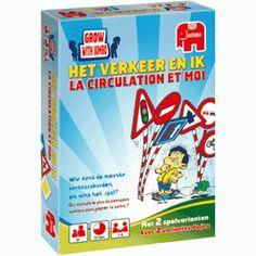 Een educatief kaartspel met de belangrijkste verkeersborden en bijbehorende situaties. Leer de belangrijkste verkeersborden in dit geheugenspel!