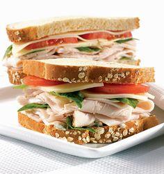Tuscan Turkey Sandwich