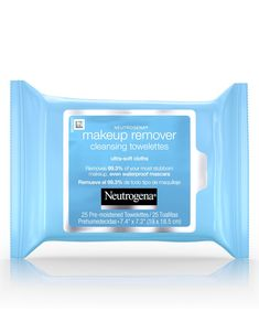 Ultra-Soft Makeup Remover Wipes for Waterproof Makeup Makeup Remover Facial Cleansing Towelettes conveniently dissolve all traces of dirt, oil, and makeup. Voted the best makeup remover wipes. Best Makeup Remover Wipes, Neutrogena Makeup Remover, Drugstore Makeup, Backstage Make Up, Mac Matte, Sommer Make Up, Make Up Studio, Soft Makeup, Makeup Products
