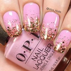 simple and easy glitter nails tutorial you can diy and try - nail art connect Nails For Kids, Nail Art Videos, Nagel Gel, Nail Tutorials, Trendy Nails, Glitter Nails, Glitter Art, Toe Nails, Beauty Nails