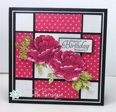 Stampin Up Stippled Blossoms Narelle Farrugia: Stampilicous - Freshly Made Sketches #141 - 6/18/14