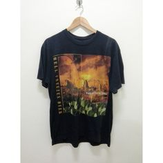 Vintage Eagles (Hell Freezes Over)World Tour shirt 1995 Hotel... (€125) ❤ liked on Polyvore featuring tops