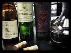 Friday Italian #wine tasting @winesearcher  Friuli 1997 white, Tuscan Reds, #Brunello Perfect... !! Wine Searcher, Italian Wine, Wine Tasting, Friday, Bottle, Red, Flask, Jars