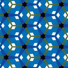 Blue & Green Mosaic by Stoflab